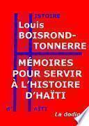 Mémoires pour servir à l'histoire d'Haïti