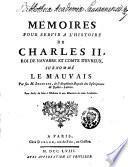 Mémoires pour servir à l'histoire de Charles II, roi de Navarre et comte d'Evreux, surnommé le Mauvais
