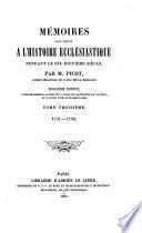 Mémoires pour servir à l'histoire ecclésiastique pendant le XVIIIe siècle