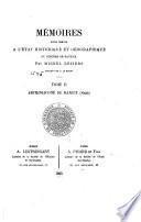 Mémoires pour sevir à l'état historique et géographique du diocèse de Bayeux. Publiés par G. Le Hardy: Archidiaconé de Bayeux