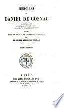 Mémoires, publ. par le comte J. de Cosnac