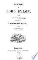 Mémoires publiés par Thomas Moore