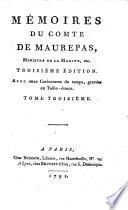 Memoires. (Red. par Salle, gubl. par Jean Louis Giraud Soulavie). 3. ed