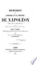 Mémoires sur l'enfance et la jeunesse de Napoléon jusqu'à l'âge de vingt-trois ans