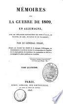 Mémoires sur la guerre de 1809