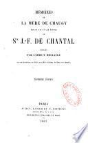 Mémoires sur la vie et les vertus de sainte Jeanne-Françoise de Chantal