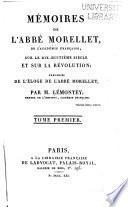 Mémoires sur le dix-huitième siècle et sur la Révolution