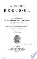 Mémoires [...] sur ses contemporains et la Révolution française