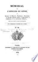 Mémorial de l'officier du genie
