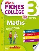 Mes fiches collège Maths 3e