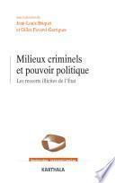Milieux criminels et pouvoir politique