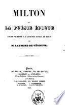 Milton et la poésie épique
