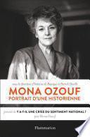 Mona Ozouf. Portrait d'une historienne