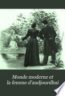 Monde moderne et la femme d'audjourdhui