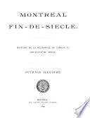 Montréal fin-de-siècle