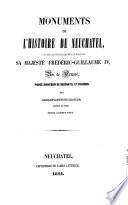 Monuments de l'histoire de Neuchâtel