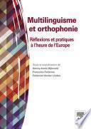 Multilinguisme et orthophonie