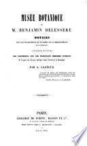 Musée botanique de M. Benjamin Delessert