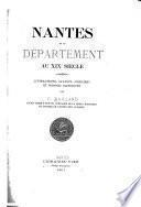 Nantes et le département au XIXe Siècle