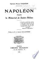 Napoléon, d'après la Mémorial de Sainte-Hélène
