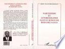 Narcissisme et autobiographie dans le roman de Bernard Nanga