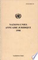 Nations Unies Annuaire Juridique 1998