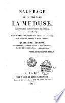 Naufrage de la frégate la Méduse faisant partie de l'expédition du Sénégal en 1816