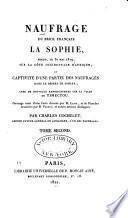 Naufrage du brick francais, La Sophie