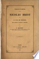 Nicolas Briot et la cour des monnaies