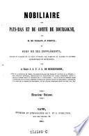 Nobilaire des Pays-Bas et du comté de Bourgogne