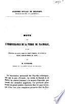 Note sur l'indépendance de la terre de Fagnolle et sur l'érection de cette terre en comté d'empire, en faveur du prince Charles-Joseph de Liège