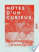 Notes d'un curieux