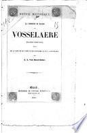 Notice historique sur la commune et église de Vosselaere (Flandre orientale)