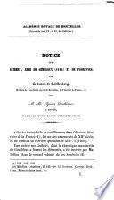 Notice sur Guibert, abbé de Gembloux (1194) et de Florennes