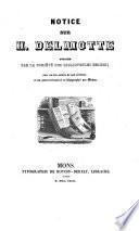 Notice sur H. Delmotte