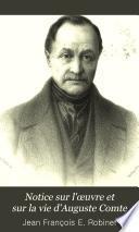 Notice sur l'œuvre et sur la vie d'Auguste Comte