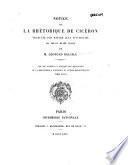 Notice sur la rhétorique de Cicéron