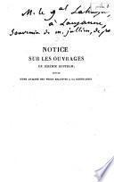 Notice sur les ouvrages de Jérémie Bentham