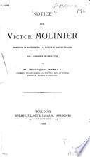 Notice sur Victor Milinier