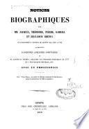 Notices biographiques sur MM. Jacques, Théodore, Pierre, Gabriel et Jean-Louis Grenus successivement citoyens de Genève dès 1620 à 1782