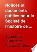Notices et documents