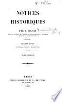 Notices historiques