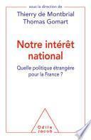 Notre intérêt national