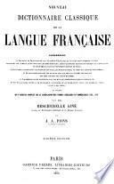 Nouveau dictionnaire classique de la langue française