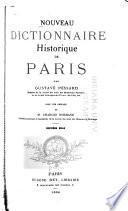 Nouveau dictionnaire historique de Paris