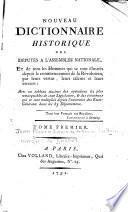 Nouveau dictionnaire historique des députés à l'Assemblée nationale