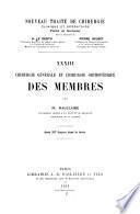 Nouveau traité de chirurgie clinique et opératoire v. 33, 1913