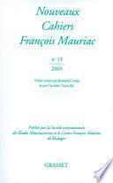 Nouveaux cahiers de François Mauriac