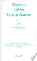 Nouveaux Cahiers Francois Mauriac