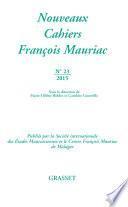 Nouveaux cahiers François Mauriac